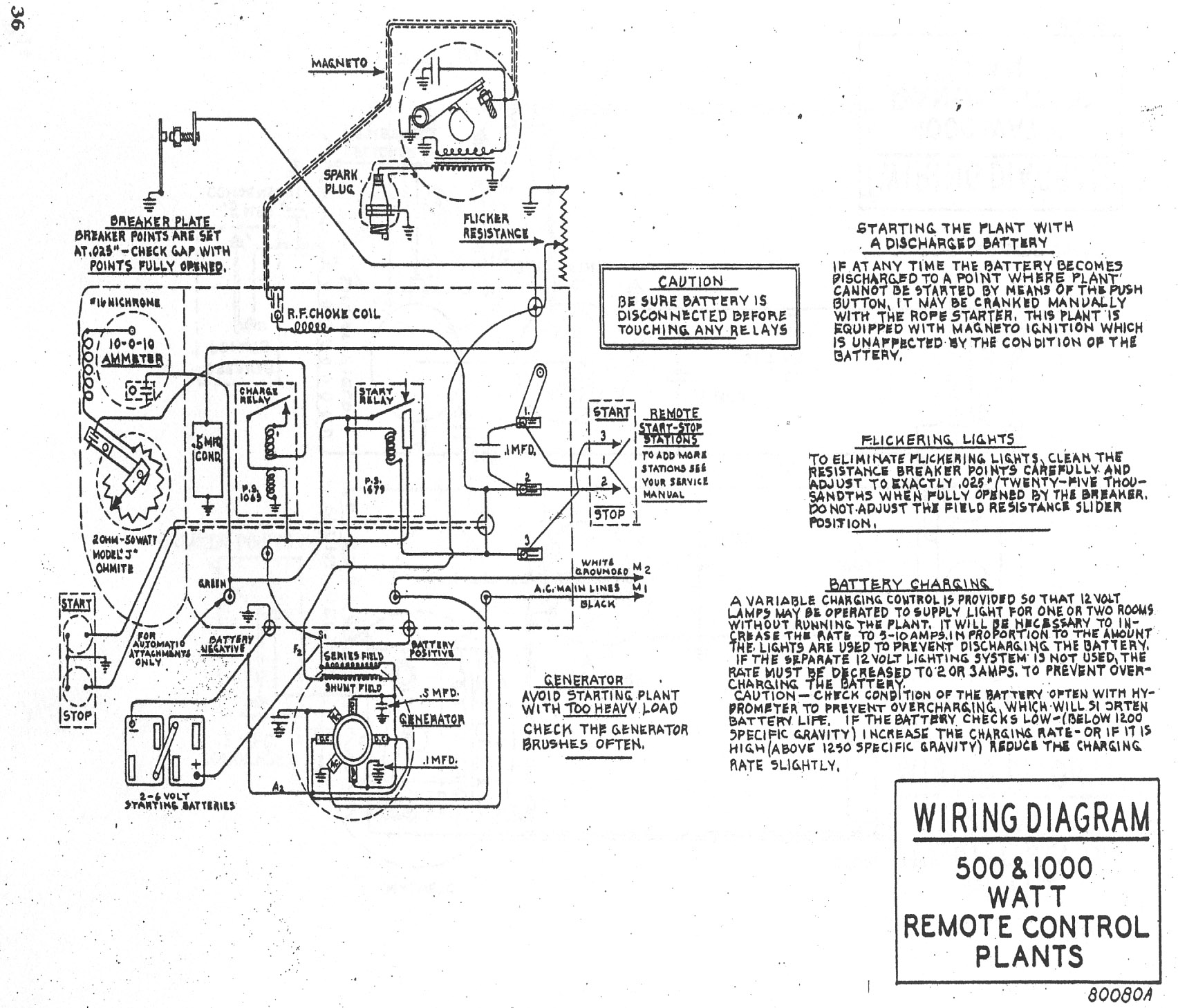 fairbanks morse 1 kw light plant manual rh runyard org Onan RV Generator 4500 For Rjc Onan Generators Wiring Diagrams